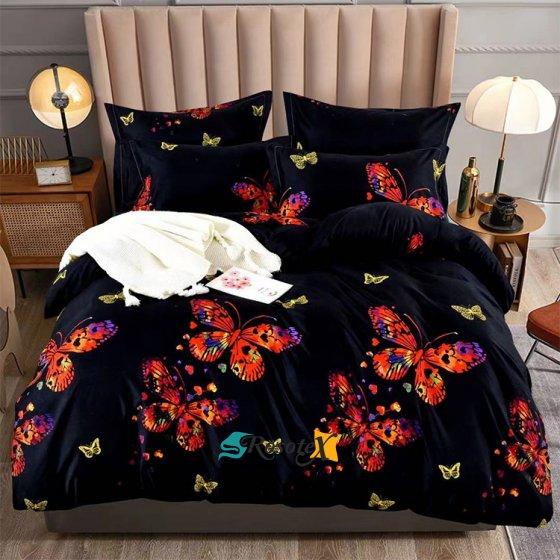 postelne obliecky BUTTERFLY