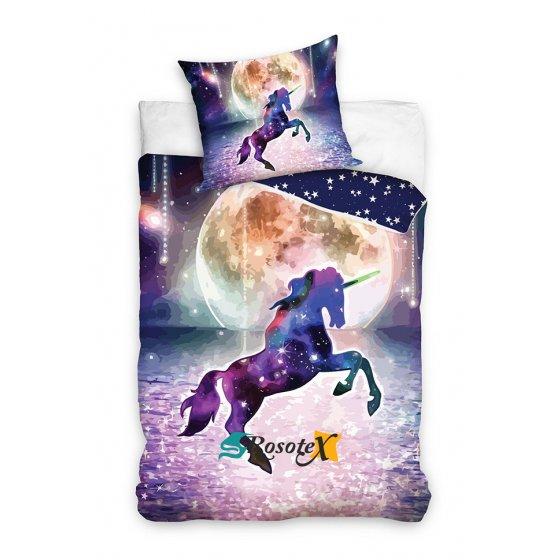 bavlnene detske obliecky unicorn 140x200cm 2491