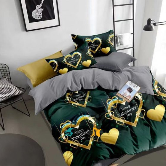 postelne obliecky MERLOT LOVE zips 140x200cm