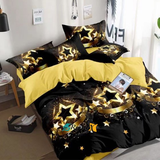 postelne obliecky MERLOT STAR zips 140x200cm