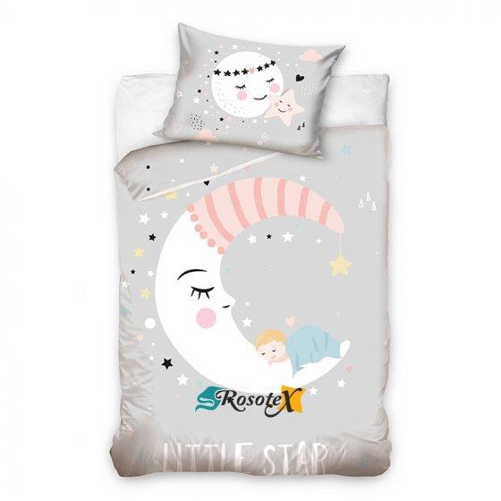 detske bavlnene obliecky LITTLE STAR 100x135cm