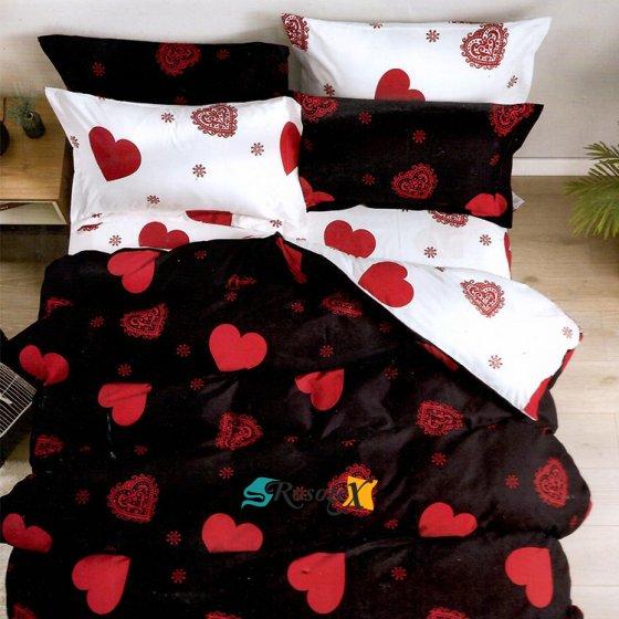 bavlnene obliecky ZORA LOVE 7 dielna sada 140x200cm