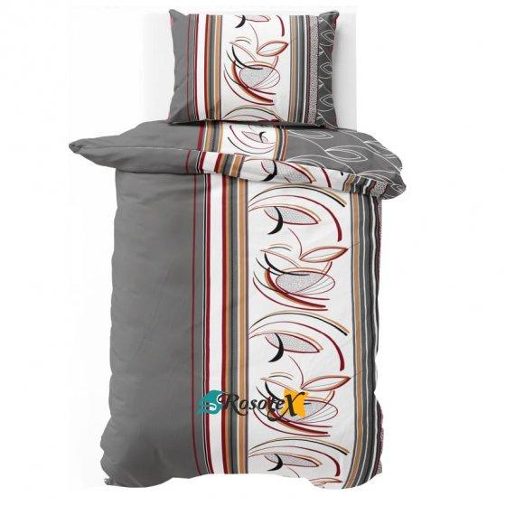 bavlnene krepove obliecky PALOMA GRAY 140x200cm