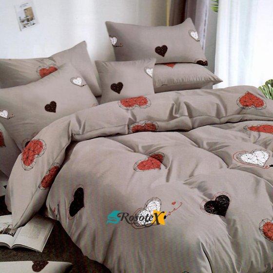 postelne obliecky chloe gray love 7 dielna sada 140x200cm 3595