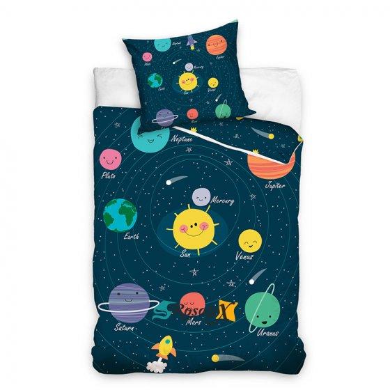 detske bavlnene obliecky UNIVERSE 140x200cm NL203046