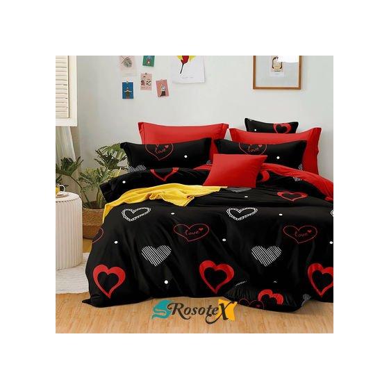 obliecky loved black red 140x200cm 2726.thumb 400x525