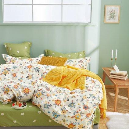Luxusné postelné obliečky Milano 62 100% bavlna