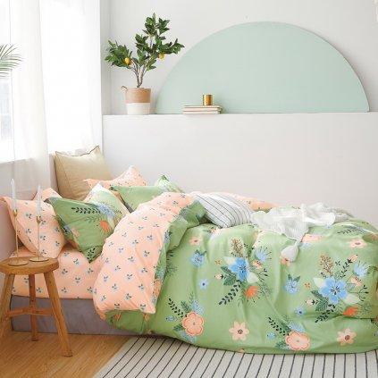 Luxusné postelné obliečky Milano 63 100% bavlna