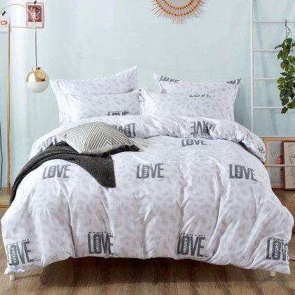 bavlnene obliecky PURE LOVE 140x200cm