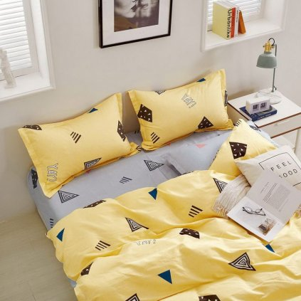 luxusne bavlnene obliecky MILANO 74 deluxe 140x200 so zipsom