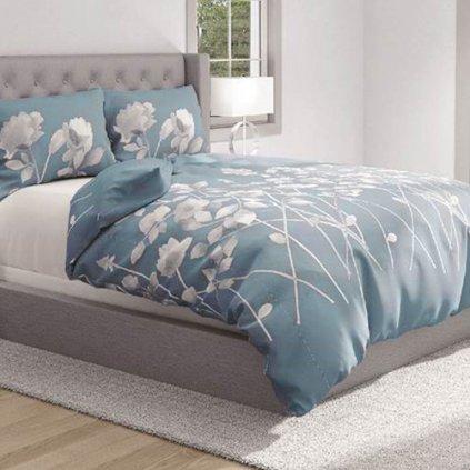 bavlnene deluxe obliecky FLORIST 140x200 so zipsom design