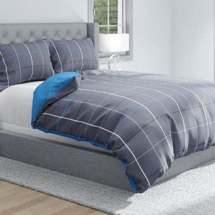 bavlnene deluxe obliecky KARO 220x200 so zipsom design