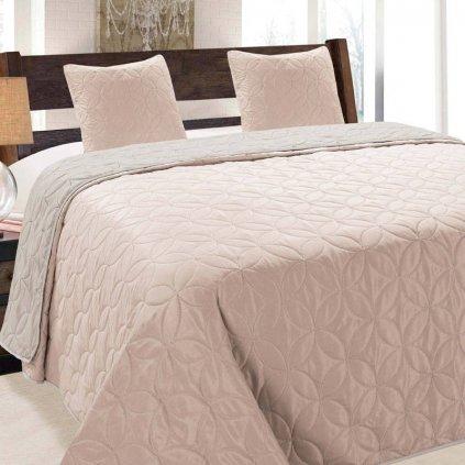 prehoz na postel vigo pink 220x240cm