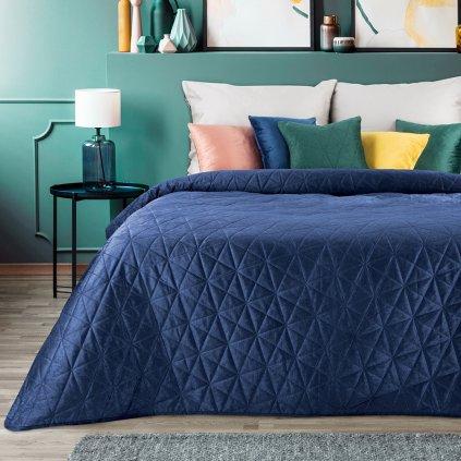 prehoz na postel LUIZ BLUE 200x220cm 01