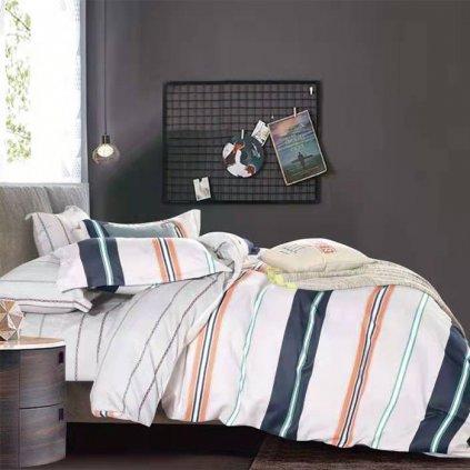 francuzske postelne obliecky momo 200x220cm gombik