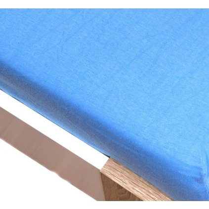 homa jersey plachta svetlo modra 60x120cm