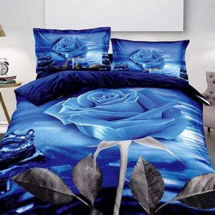 postelne obliecky MERLOT ROSE zips 140x200cm