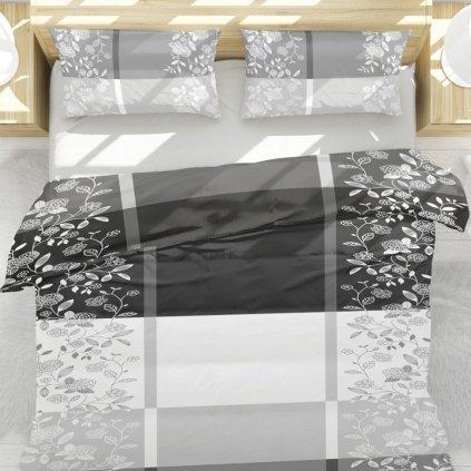 bavlnene obliecky JANE LEAFS 2 dielna sada 140x200cm