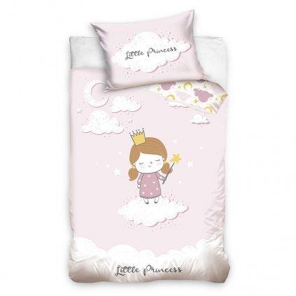 detske bavlnene obliecky LITTLE PRINCESS 100x135cm