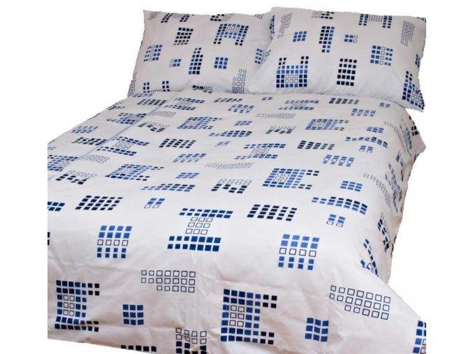 Obliečky DIGITAL Biela Zips Bavlna 70x90 140x200 cm