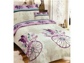 dream fialove flanelove obliecky 3 set 1582 b305