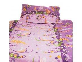 sipky fialove 140x200cm bavlnene obliecky 1577 b0bf