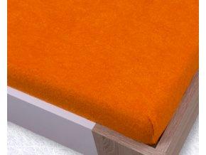 oranzova frote plachta 520x520
