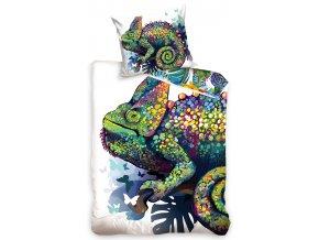 carbotex dekbedovertrek kleurrijke cameleon 140 x 200 cm 295986 1559047529