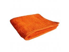 Osuška froté Deluxe oranžová 70x140cm