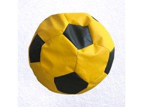 sedaci vak futbal zlto cierna
