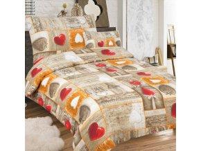Obliečky Amorko Bavlna 70x90 140x200 cm