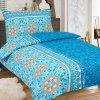 Obliečky SABINA modrá  Bavlna 70x90 140x200 cm
