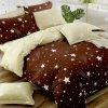 bavlnene obliecky STAR 08 brown 140x200