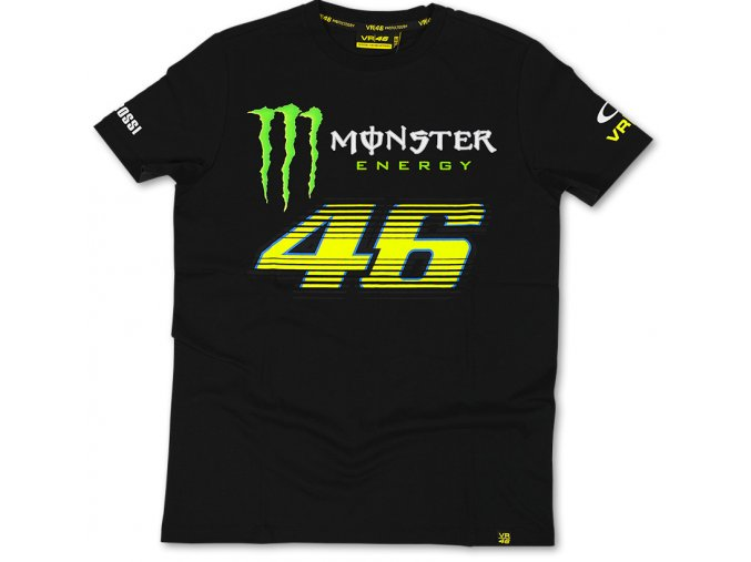 tricko valentino rossi monster black 2014 full 1