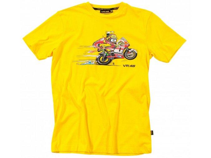 Tričko - Valentino Rossi - Bike Yellow - 2012