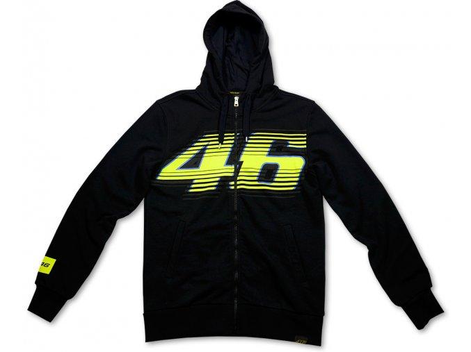 Mikina - Valentino Rossi - Hooded Black 46 - 2014