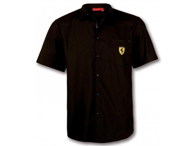 Košeľa - Ferrari - Scudetto Ventilation Black