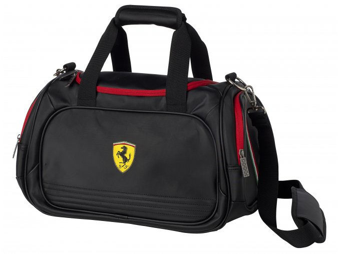 ferrari taska sport bag small black full 1