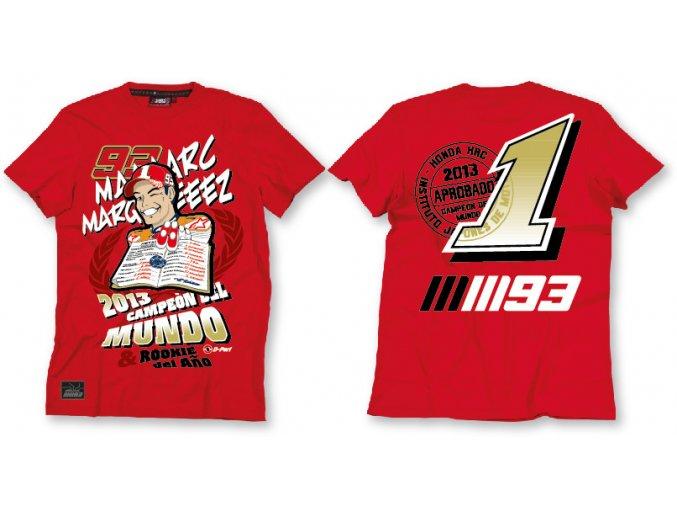 Tričko - Marc Marquez - Champion 2013