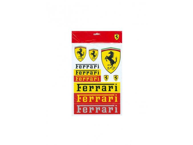 Nálepky - Ferrari - Set Scuderia Ferrari