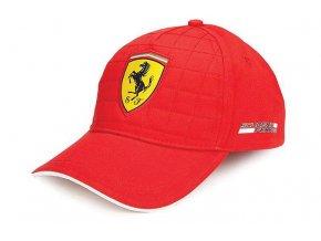 Šiltovka - Ferrari - Quilt Stitch Red