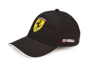 Šiltovka - Ferrari - Quilt Stitch Black