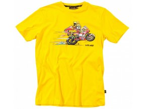 Tričko - Valentino Rossi - Bike Yellow - 2012