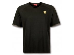 ferrari tricko scudetto v black full 1