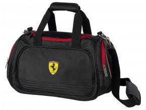 ferrari taska sport bag small black full 1