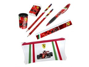 2018 red ferrari stationery set 58229