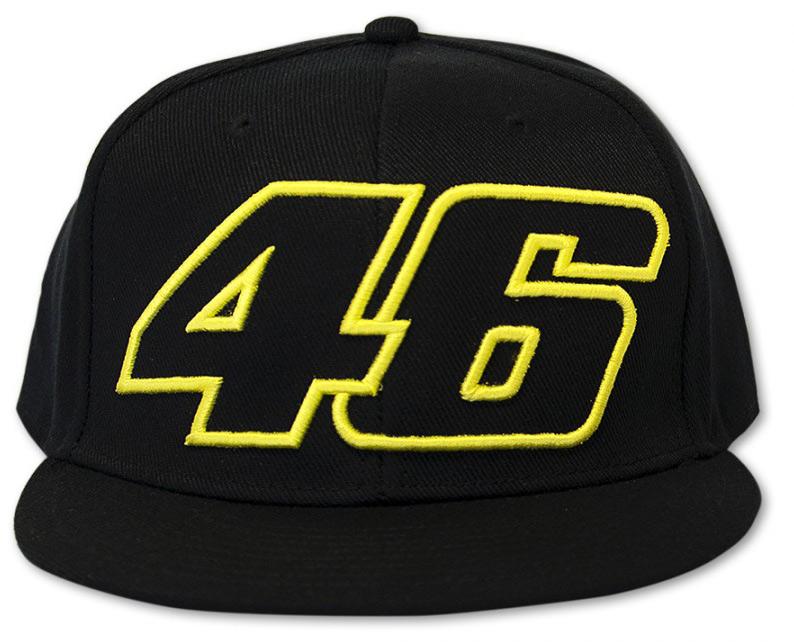 Šiltovka - Valentino Rossi - Flat Visor Black 46 Veľkosť: Jednotná