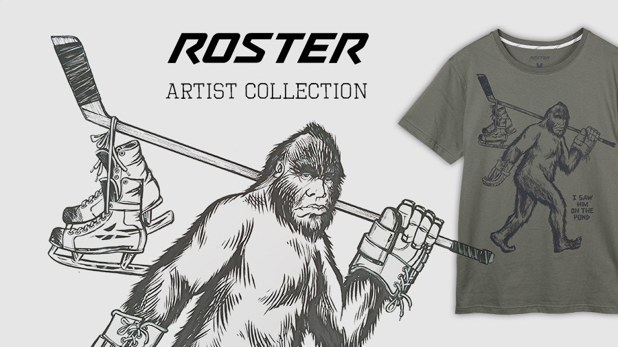 Triko Roster Bigfoot - The Artist Collection