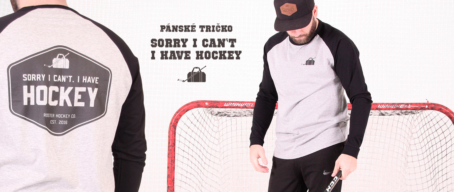 SORRY I CAN'T I HAVE HOCKEY