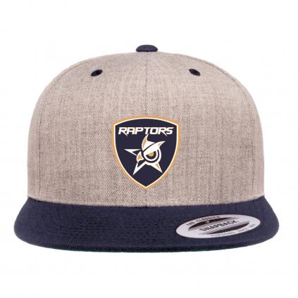 ksiltovka roster hockey mh raptors snapback blue grey 01
